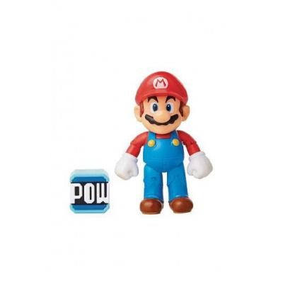 World of Nintendo série 16 figurine Mario with POW Block 10 cm