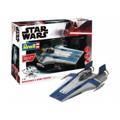 Star Wars - Resistance A-wing Fighter, blue (1:44)