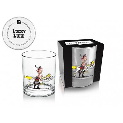 LUCKY LUKE - Whisky Glass 270 ML Luke And Jolly