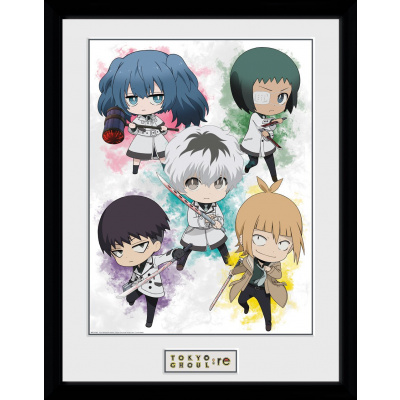 Tokyo Ghoul RE: Chibi Collector Print