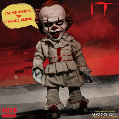 IT: Mega Scale Talking Pennywise Action Figure
