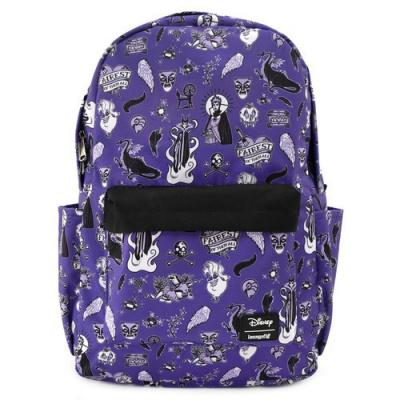 Disney: Villian Icons All Over Print Nylon Backpack