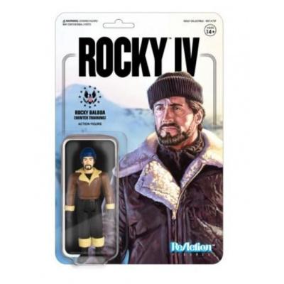Rocky 4: Rocky Winter Training - 3.75 inch ReAction Figure