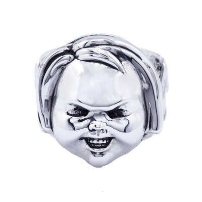 Child's Play 2: Chucky - Silver Plated Ring Size 10