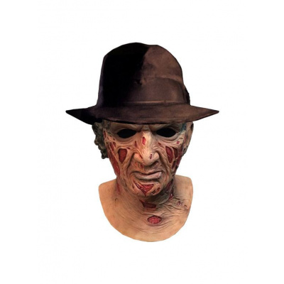 A Nightmare on Elm Street: Deluxe Freddy Krueger Mask with Hat