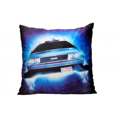 Back to the Future: DeLorean Roads Square Cushion