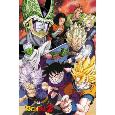 Dragon Ball Z Poster Pack Cell Saga 61 x 91 cm