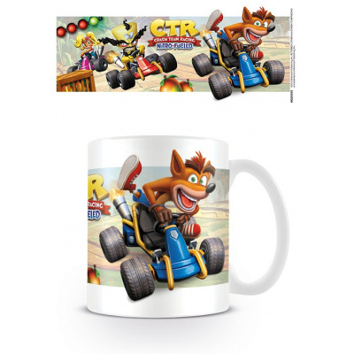 Crash Bandicoot: Crash Team Racing - Fight for First Place Mug