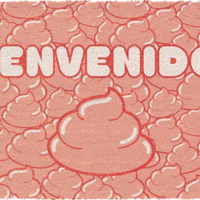Dr. Slump: Welcome Bienvenidos 60 x 40 cm Doormat