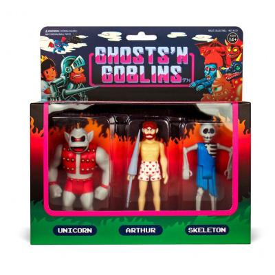 Ghost n' Goblins: Pack B - ReAction Figure 3-Pack