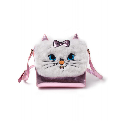 Disney: The Aristocats - Marie Shoulder Bag with Furry Flap