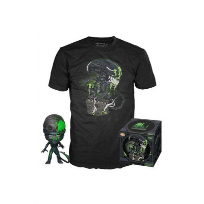ALIEN - POP! & Tee Set - Xenomorph - L