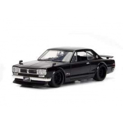 Fast and Furious: Brians classic Nissan Skyline 2000 GT-R Black 1:32