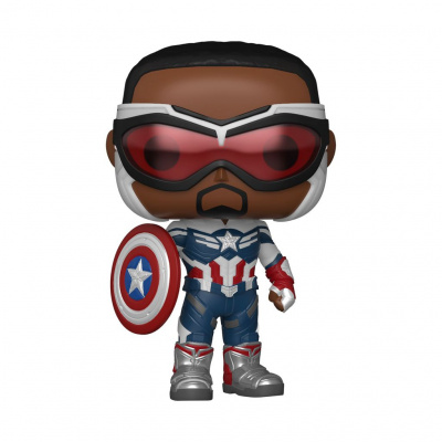 Pop! Marvel: The Falcon and the Winter Soldier - Captain America