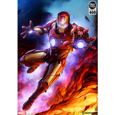 Marvel: Iron Man Custom Edition #1 Unframed Art Print