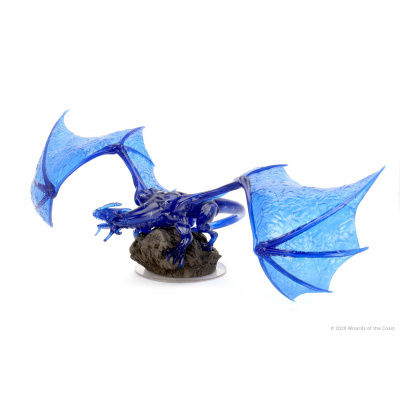 Dungeons and Dragons: Icons of the Realms - Sapphire Dragon Premium Figure