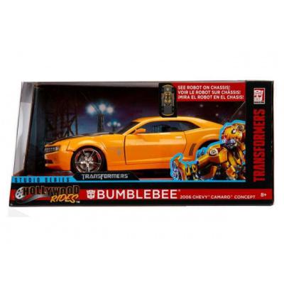 Transformers: 2006 Chevrolet Camaro Bumblebee Yellow-Black 1:24