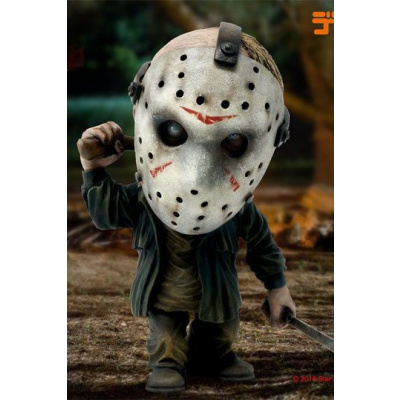 Star Ace Toys Friday The 13th: Jason Defo-Real Deluxe Soft Vinyl Statue, Multicolor
