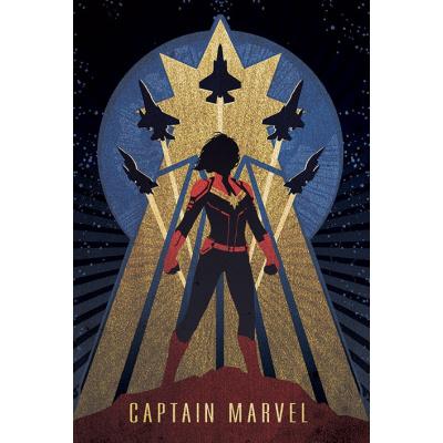 Marvel: Captain Marvel Deco 91 x 61 cm Poster
