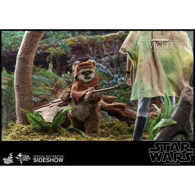 Star Wars: Return of the Jedi - Wicket 1:6 Scale Figure