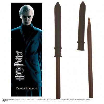 Harry Potter: Draco Malfoy Wand Pen and Bookmark