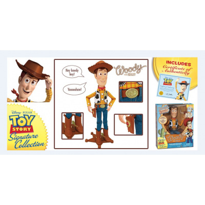 Disney: Toy Story - Deluxe Talking Woody 40 cm