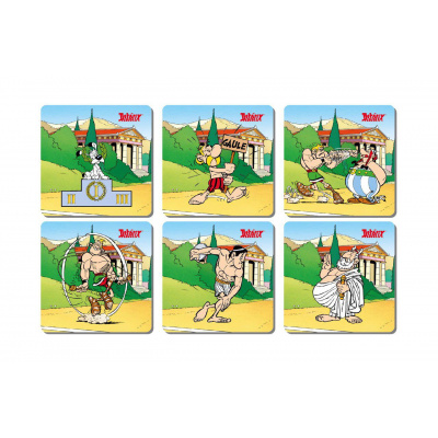 Asterix: Olympic Games - Set of 6 Coasters