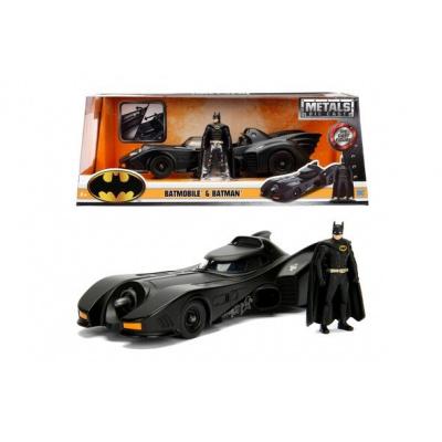 DC Comics: Batman 1989 - Batmobile and Batman 1:24 Scale Set