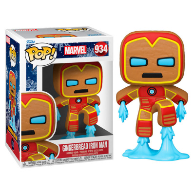 POP Marvel: Holiday - Gingerbread Iron Man