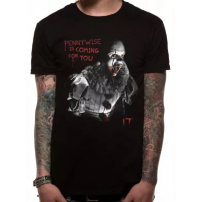 IT- COMING FOR YOU T-Shirt BLACK