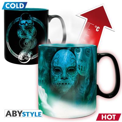 HARRY POTTER - Mug Heat Change - 460 ml - Voldemort - with box x2
