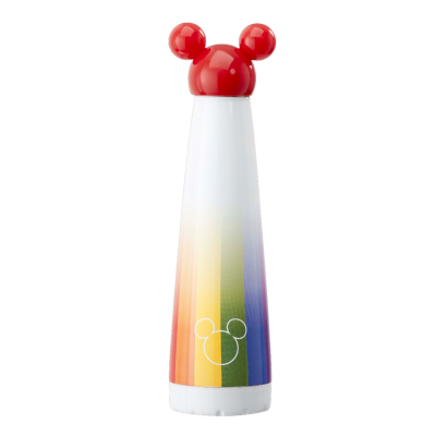 Mickey Rainbow: Metal Water Bottle