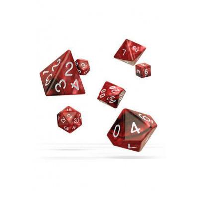 Oakie Doakie - Set of 7 Polyhedral Dice - Gemidice: Vampire