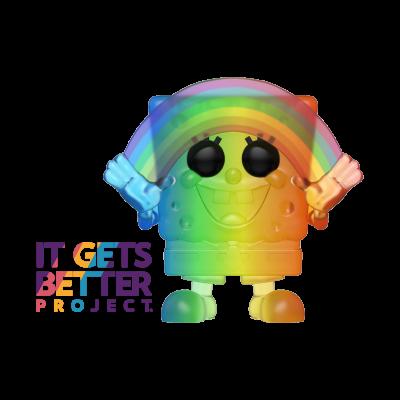 Pop! Cartoons: Pride 2020 - Rainbow SpongeBob