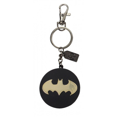 DC Comics: Batman Golden Logo Metal Keychain