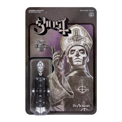 Ghost: Papa Emeritus III Black Series 3.75 inch ReAction Figure