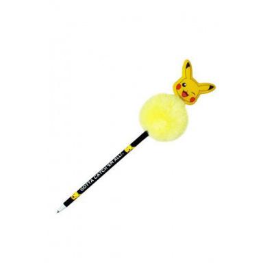Pokemon pen with Pom Pom Pikachu