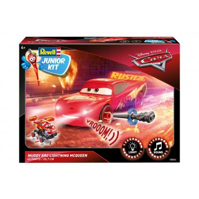 Cars 3: Lightning McQueen Crazy 8 Race 1:20 Scale Model Kit