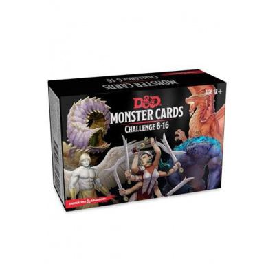Dungeons & Dragons jeu de cartes Spellbook Cards: Monsters 6-16 Deck *ANGLAIS*