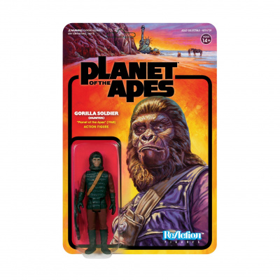 Planet of the Apes: Ape Soldier 1 - Hunter 3.75 inch ReAction Figure
