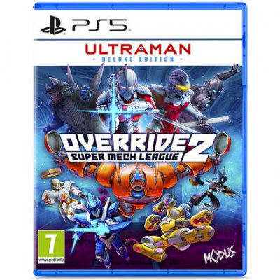 Ultraman - Deluxe edition - override - super mech league 2 PS5