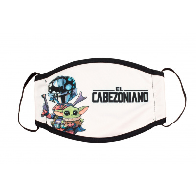 Star Wars: The Mandalorian Cabezones Children's Face Mask