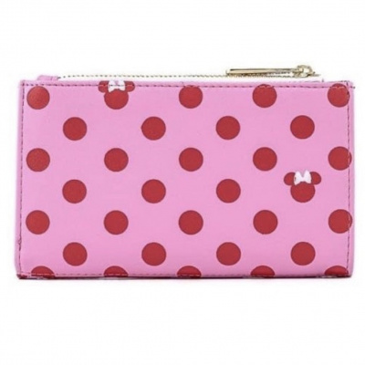 LoungeFly DISNEY MINNIE MOUSE DOTS AOP WALLET - CSK