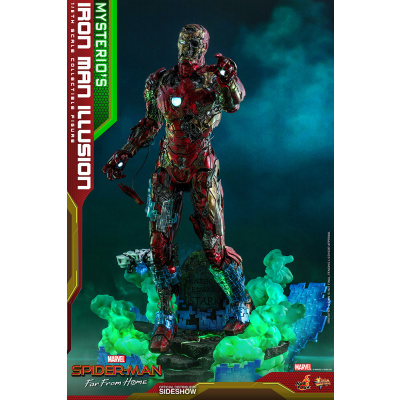Marvel: Spider-Man Far from Home - Mysterio's Iron Man Illusion 1:6 Scale Figure