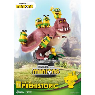 Minions: Prehistoric PVC Diorama