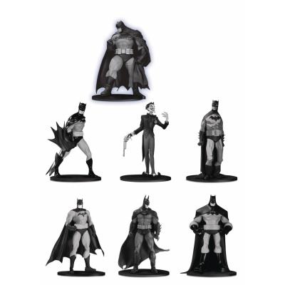 DC Comics: Batman Black and White Mini PVC Figure 7-Pack Set 3