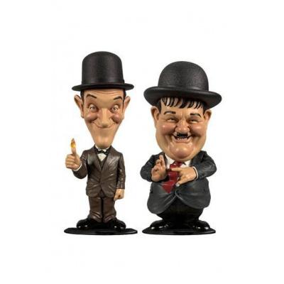 Laurel et Hardy pack 2 Bobble Head Mini Suits 8 cm