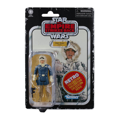 Star Wars Episode V Retro Collection figurine Han Solo (Hoth)