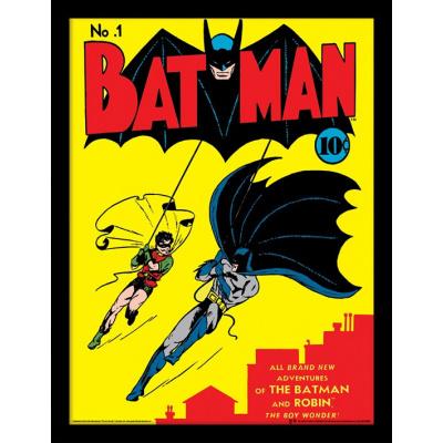 DC Comics: Batman - No.1 30 x 40 cm Framed Print