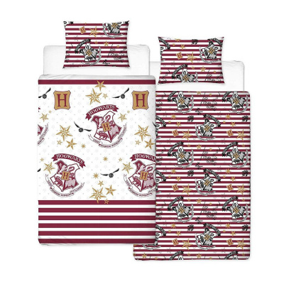 Harry Potter: Single Reversable Duvet Set